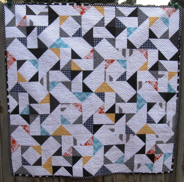 Melissa Corry's Back to Basics quilt has been accepted to the Modern Quilt Guild Exhibit for International Quilt Market in Houston. www.craftsy.com/user/496522/pattern-store